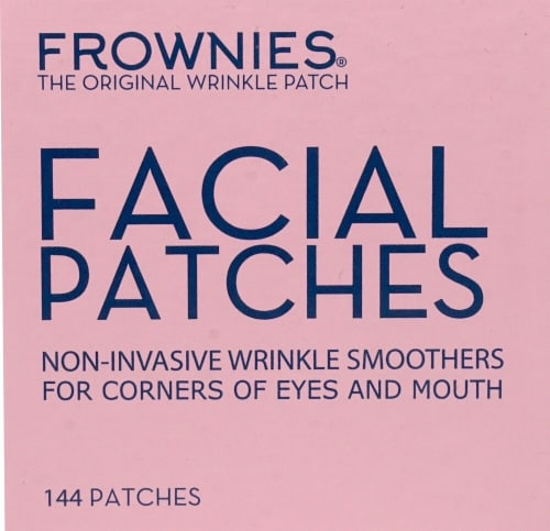 Frownies  Facial Patches for Corners of Eyes & Mouth Perspective: front
