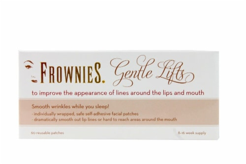 Frownies Gentle Lifts Wrinkle Treatment for Lip Lines Perspective: front
