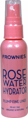 Frownies Rose Water Hydrator Perspective: front