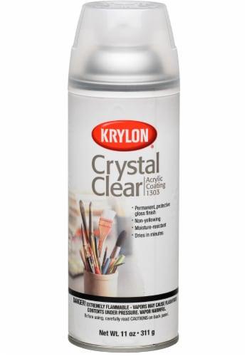 Krylon® Crystal Clear Acrylic Finish Spray Perspective: front
