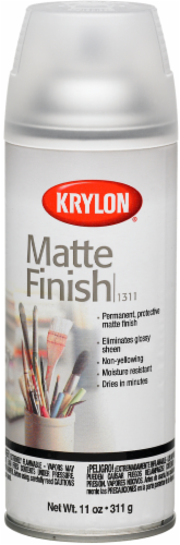 Krylon® Clear Matte Finish Spray Perspective: front