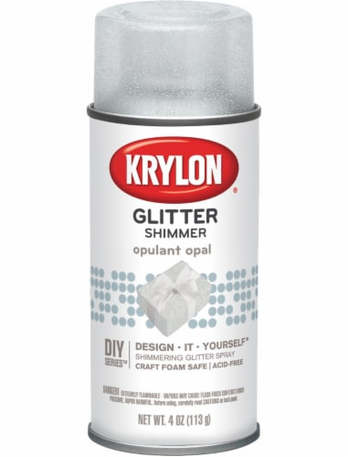 Krylon® Glitter Shimmer Spray Paint - Opulent Opal Perspective: front