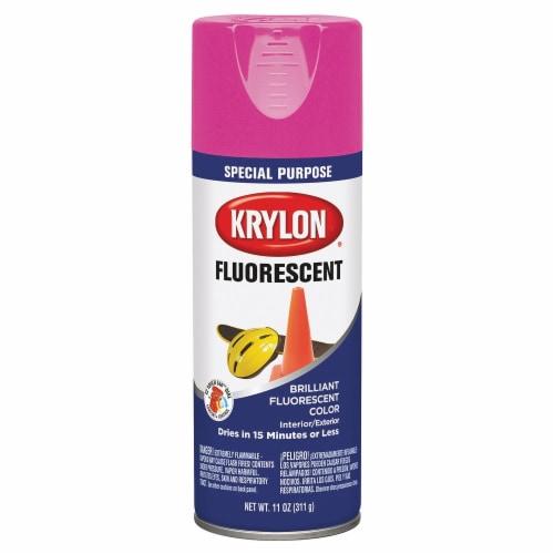 Krylon® Fluorescent Spray Paint - Cerise Perspective: front