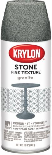 Krylon® Fine Stone Textured Finish Spray - Granite Perspective: front