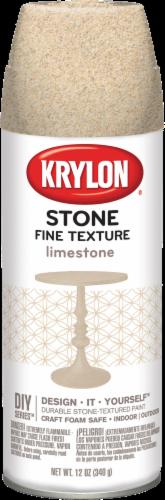 Krylon® Fine Stone Textured Finish Spray  - Limestone Perspective: front
