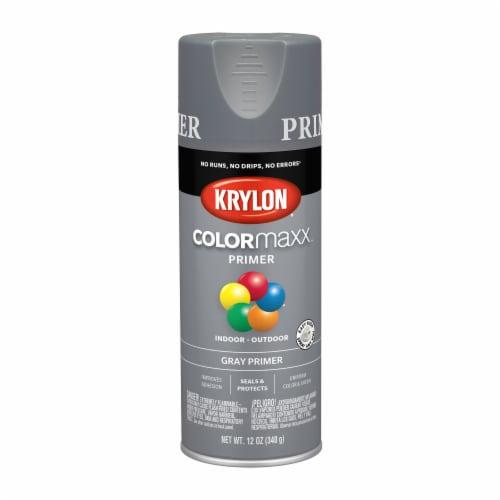 Krylon® ColorMaxx Indoor/Outdoor Primer - Gray Perspective: front