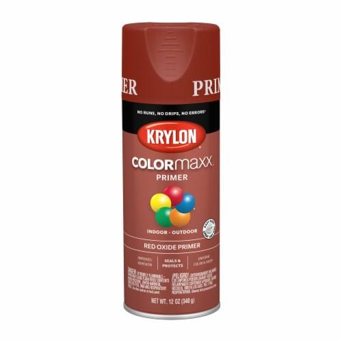 Krylon® ColorMaxx Indoor/Outdoor Primer - Red Oxide Perspective: front