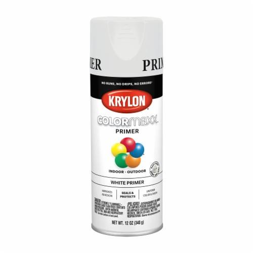 Krylon® ColorMaxx Indoor/Outdoor Primer - White Perspective: front