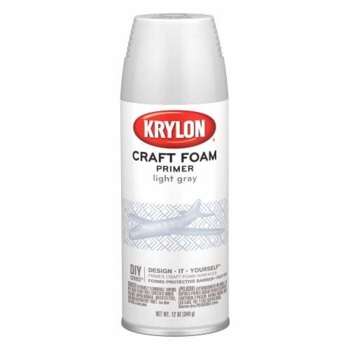 Krylon® Craft Foam Primer - Light Gray Perspective: front