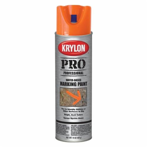 Krylon® Pro Professional Water-Based Marking Paint - Orange Perspective: front