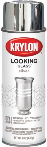 Krylon® Looking Glass® Paint - Silver Perspective: front