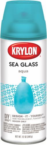 Krylon® Sea Glass Finish - Aqua Perspective: front
