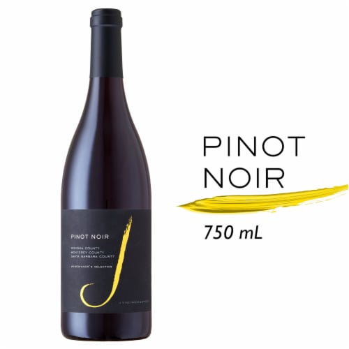 J Vineyards Pinot Noir Red Wine Perspective: front