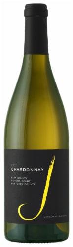 J Vineyards Chardonnay White Wine Perspective: front
