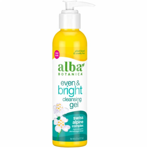 Alba Botanica® Even & Bright Cleansing Gel Perspective: front