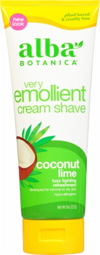 Alba Botanica Coconut Lime Shaving Cream Perspective: front