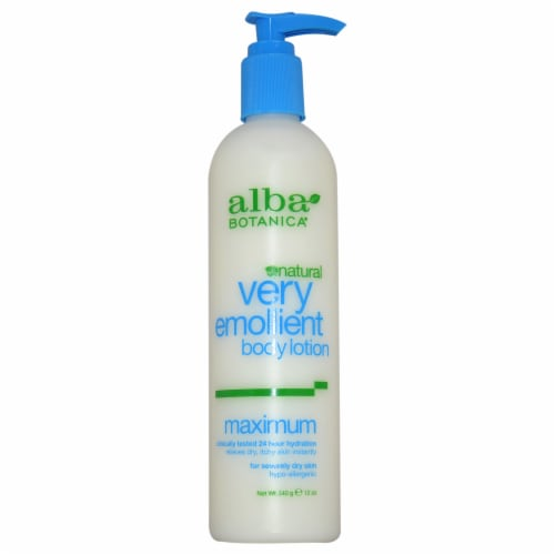 Alba Botanica Natural Very Emollient Maximum Dry Skin Lotion Perspective: front