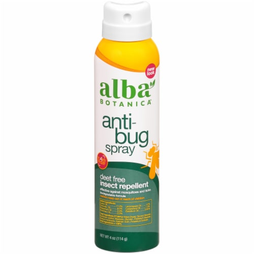 Alba Botanica Anti-Bug Spray Insect Repellent Perspective: front