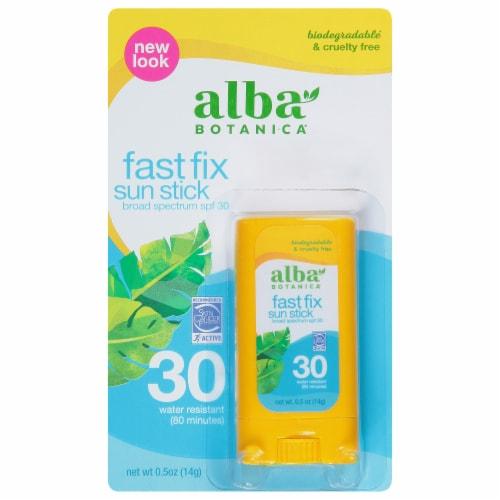 Alba Botanica Fast Fix Sun Stick SPF 30 Perspective: front