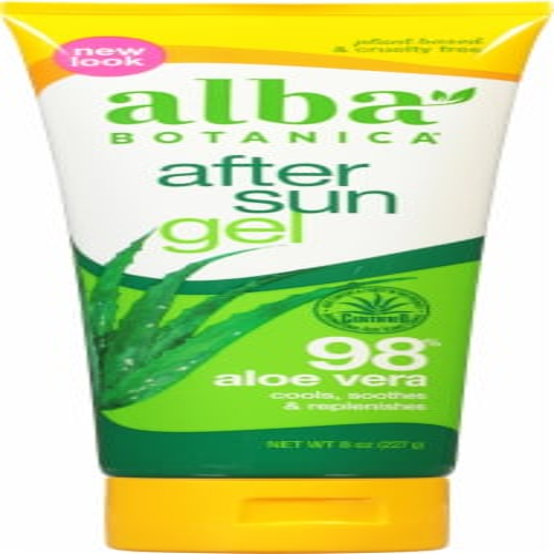 Alba Botanica Very Emollient After Sun Gel Perspective: front