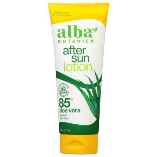 Alba Botanica Very Emollient After Sun Lotion Perspective: front