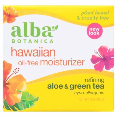 Alba Aloe & Green Tea Oil-Free Moisturizer Perspective: front