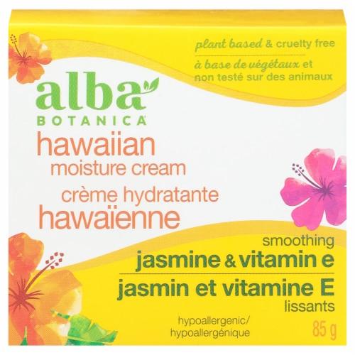 Alba Botanica Jasmine & Vitamin E Hawaiian Moisture Cream Perspective: front