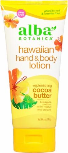 Alba Botanica Replenishing Cocoa Butter Hawaiian Hand & Body Lotion Perspective: front