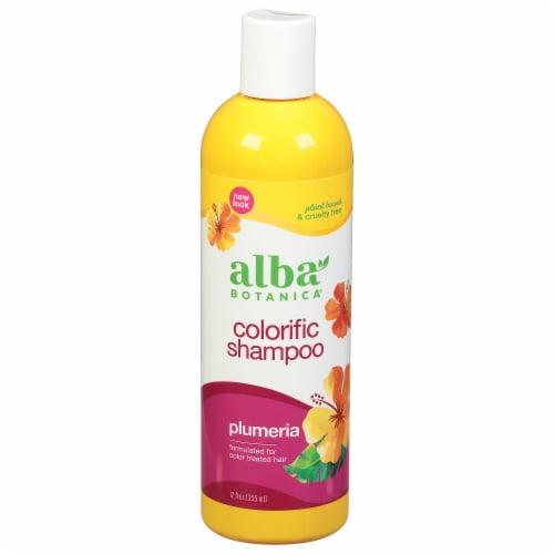 Alba Botanica Plumeria Colorific Shampoo Perspective: front