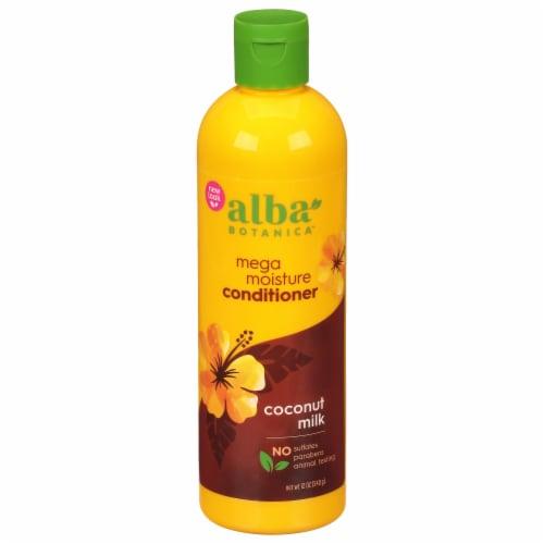 Alba Botanica Coconut Milk More Moisture Conditioner Perspective: front