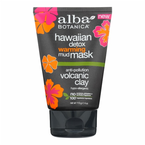 Alba Botanica - Mask - Hi Detox - Warming Mud - 4 oz Perspective: front