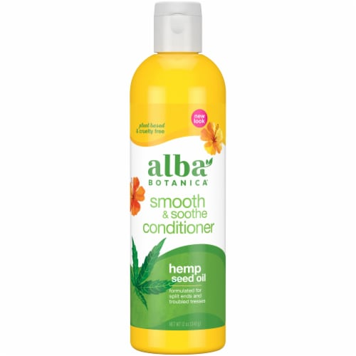 Alba Botanica Smooth & Soothe Conditioner Perspective: front