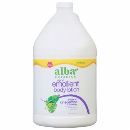 Alba Botanica Original Unscented Very Emollient Body Lotion Perspective: front