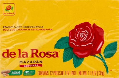 De la Rosa Peanuts Confection Marzipan Candy Perspective: front