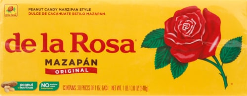 De La Rosa Mazapan Style Peanut Candy Perspective: front