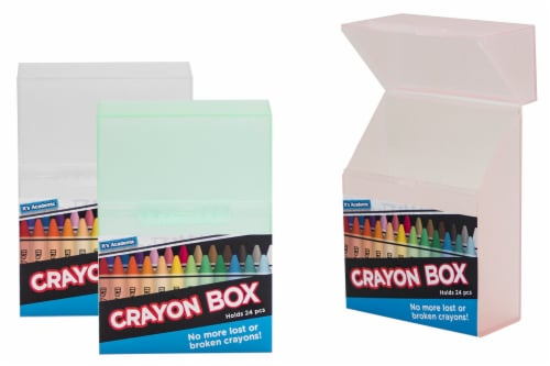 It's Academic Crayon Box Perspective: front