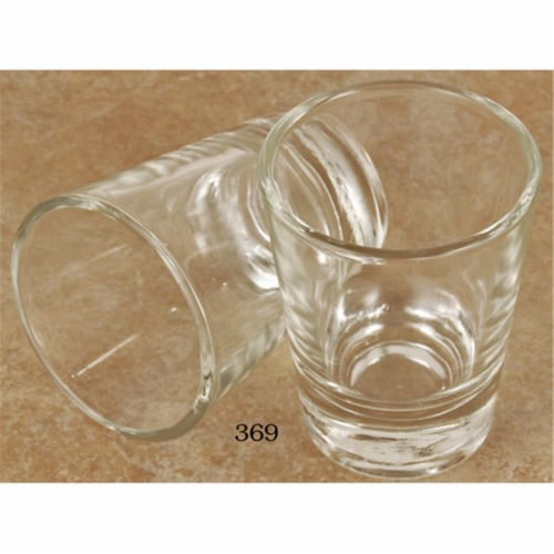 European Gift 369 1.5 oz Epresso Shot Glass Perspective: front