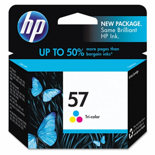 HP 57 Ink Cartridge - Tri-Color Perspective: front