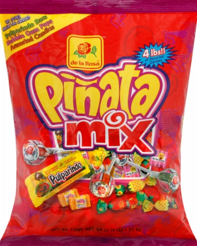 De La Rosa Pinata Mix Candy Perspective: front