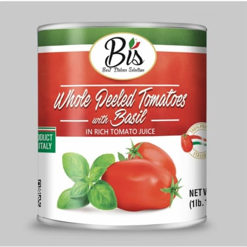 Best Italian Selection Whole Peeled Tomatoes Perspective: front