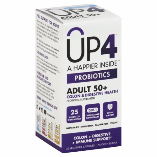 Up4 Senior Probiotic Perspective: front