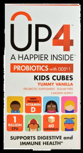 Up4 Probiotics Kids Probiotic Yummy - Vanilla Perspective: front