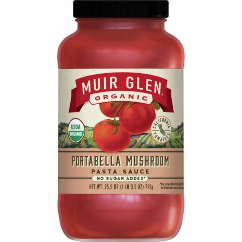Muir Glen Organic Portabella Mushroom Pasta Sauce Perspective: front