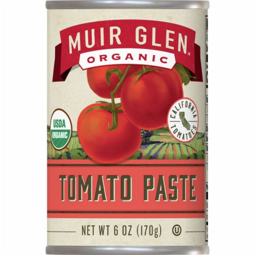 Muir Glen Organic Tomato Paste Perspective: front