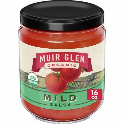 Muir Glen Organic Mild Salsa Perspective: front