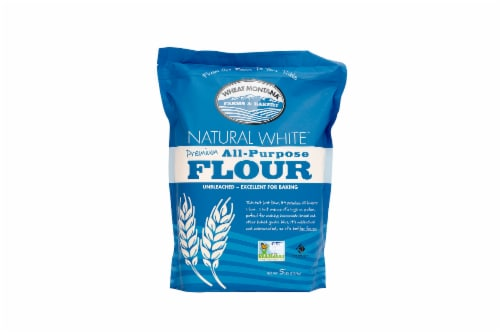 Wheat Montana Natural White Premium All-Purpose Flour Perspective: front