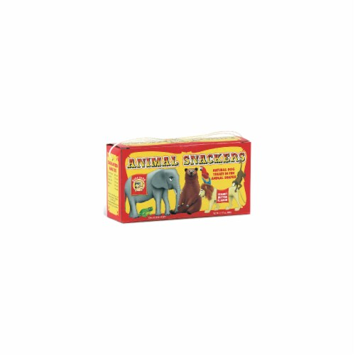 Pet Snax 873993 3.5 oz Animal Snackers Dog Treat Perspective: front