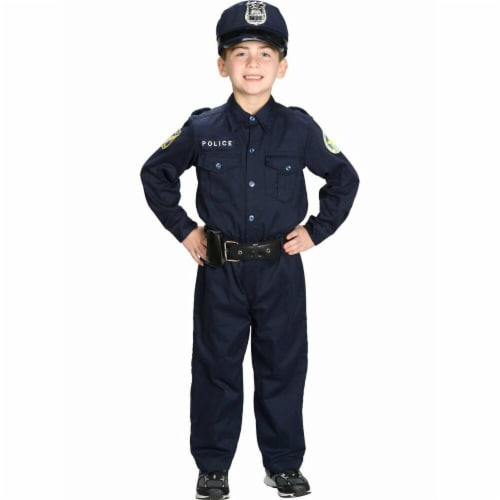 Charades Costumes 271591 Junior Police Suit Child Costume - Large Perspective: front