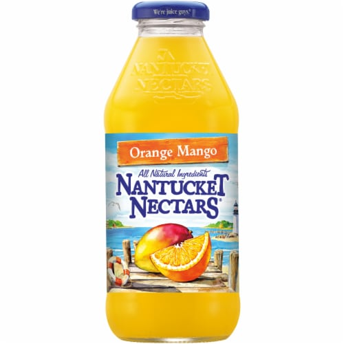 Nantucket Nectars Orange Mango Perspective: front