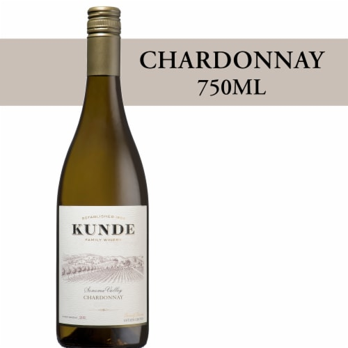 Kunde Estate Chardonnay White Wine Perspective: front